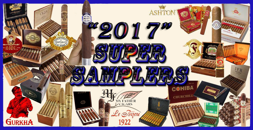2017 Super Samplers...Free Shipping
