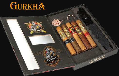 Gurkha Cigar Sampler and Knife Gift Pack