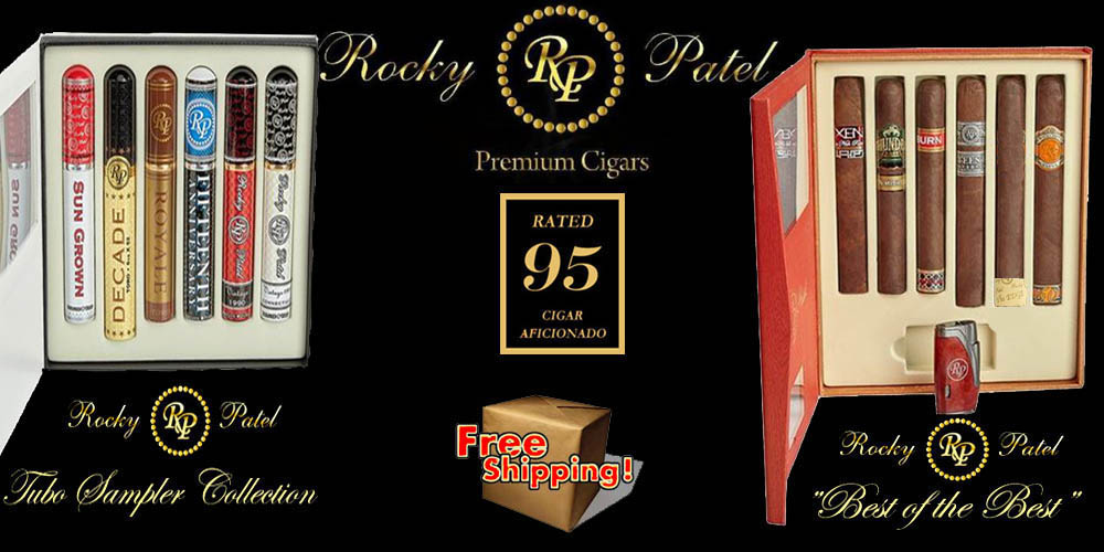Rocky Patel Samplers...Free Shipping