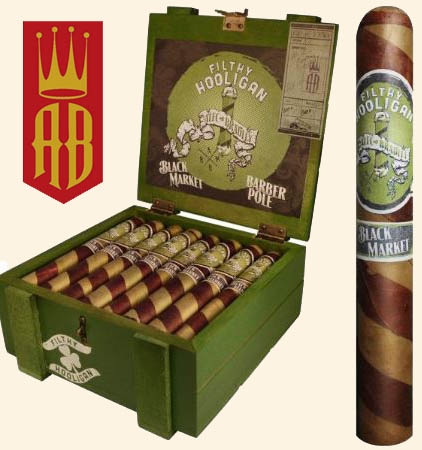 St. Patrick's Day...Black Market 'Filthy Hooligan' Cigars